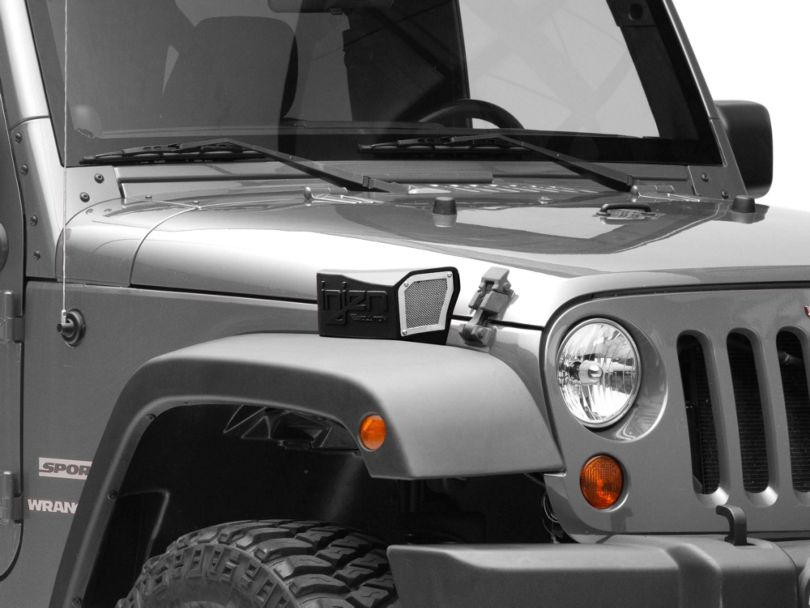 Injen Evolution Ram Air Scoop (12-18 3.6L Jeep Wrangler JK)