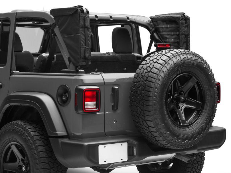 XG Cargo Gama Mounted Sportsbar Side Storage Bags (18-20 Jeep Wrangler JL 4 Door)