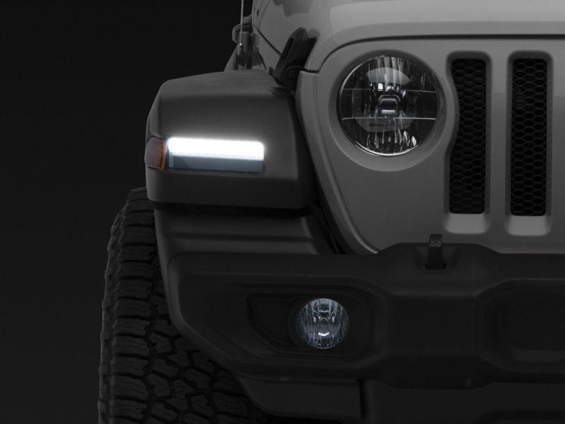 Morimoto XB LED Turn Signals - Smoked (18-20 Jeep Wrangler JL, Excluding Sport)