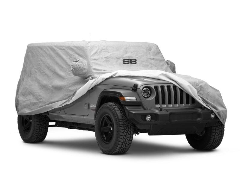 Smittybilt Full Climate Jeep Cover (18-20 Jeep Wrangler JL 4 Door)