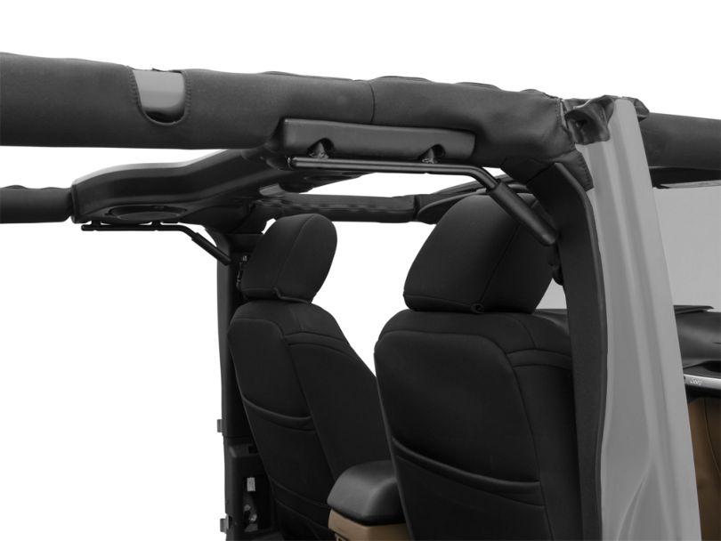 Alterum Steel Rear Grab Handles (07-18 Jeep Wrangler JK)