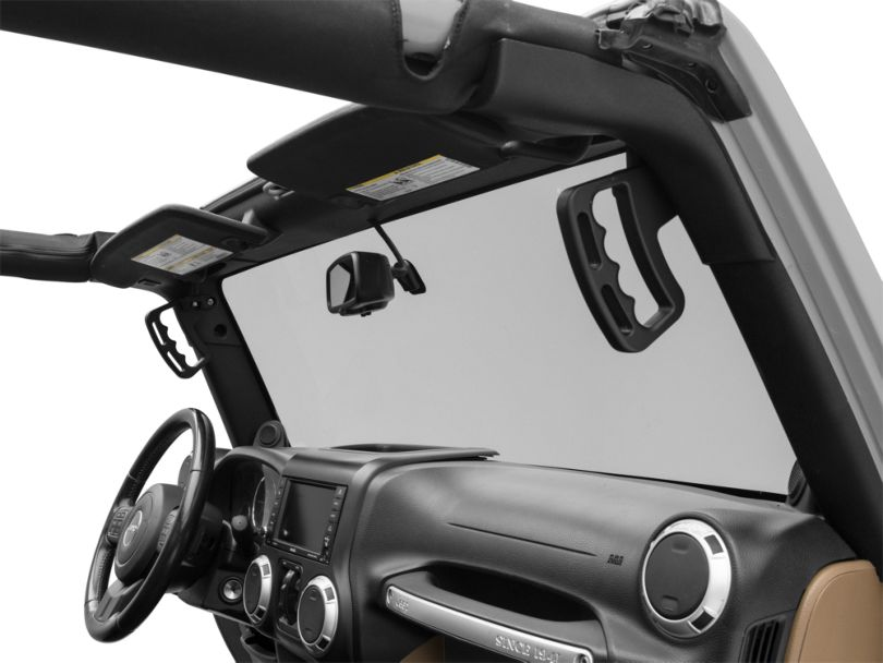 Alterum Aluminum Grab Handles; Pair (07-18 Jeep Wrangler JK)