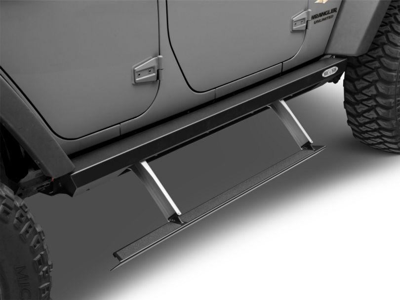 Rock-Slide Engineering Step Sliders (07-18 Jeep Wrangler JK 4 Door)