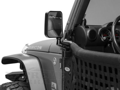 Add Body Armor 4x4 Mirrors for Trail Doors (97-17 Wrangler TJ & JK)