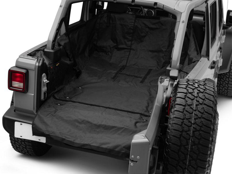 Smittybilt G.E.A.R. Cargo Liner; Black (18-20 Jeep Wrangler JL 4 Door)