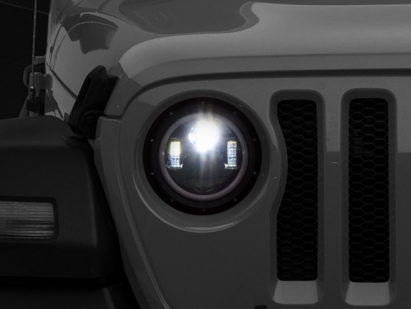 9 in. HD Tempest Halo LED Headlights (18-20 Jeep Wrangler JL)
