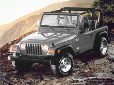 Add Omix-ADA OE Style Front Bumper, Black (97-06 Wrangler TJ)