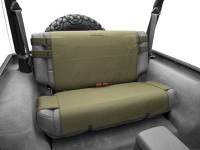 Smittybilt G.E.A.R. Rear Seat Cover - Olive Drab Green (87-06 Jeep Wrangler YJ & TJ)