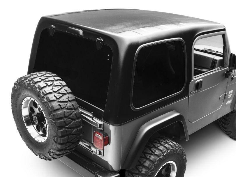 Smittybilt 1-Piece Hardtop w/o Upper Doors - Textured Black (97-06 Jeep Wrangler TJ, Excluding Unlimited)