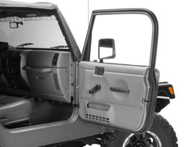 Omix-ADA Passenger Outer Door Weather Stripping (97-06 Jeep Wrangler TJ w/ Full Doors)