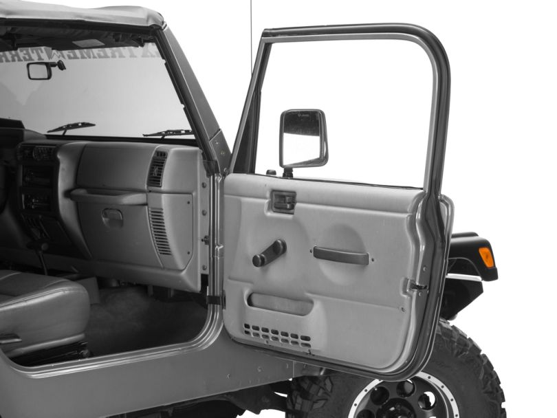 Passenger Outer Door Weather Stripping (97-06 Jeep Wrangler TJ w/ Full Doors)
