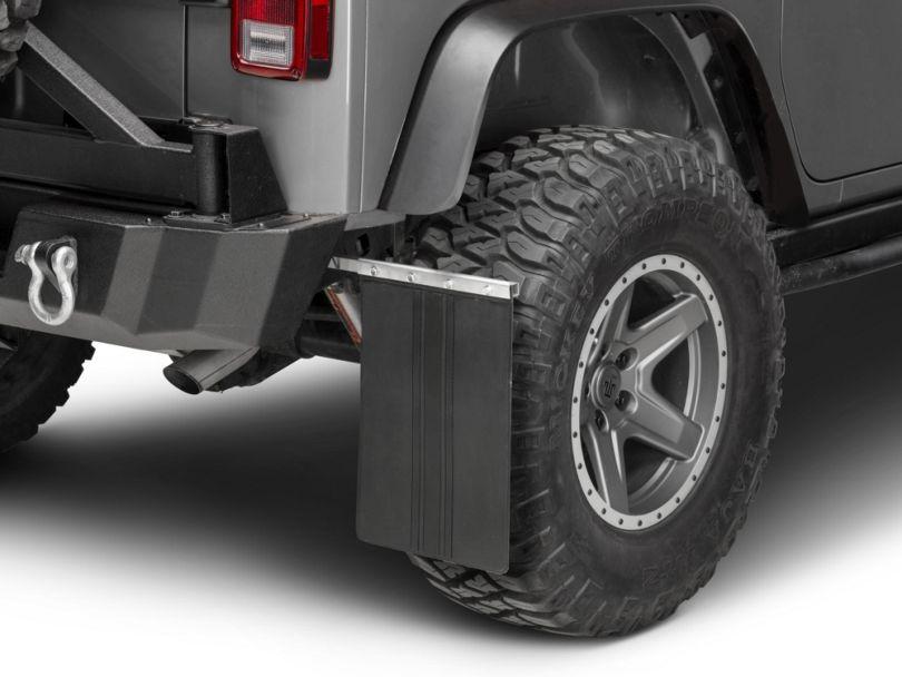 Teraflex Removable Mud Flaps (87-18 Jeep Wrangler YJ, TJ & JK)
