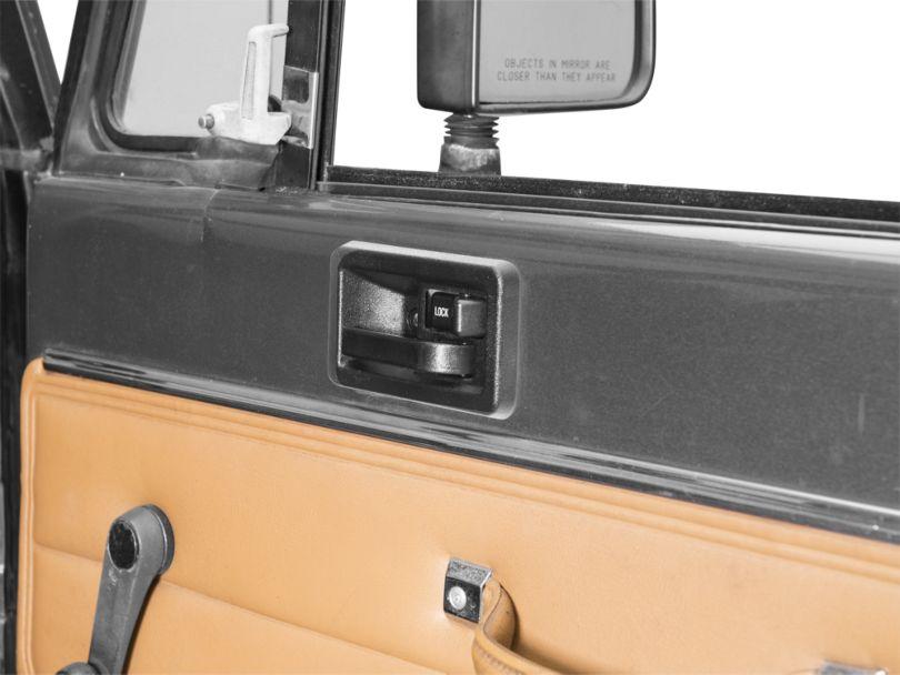 Interior Door Handle - Right Side (87-95 Jeep Wrangler YJ)