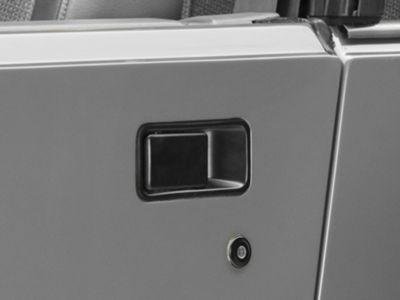 Add Omix-ADA Right Side Outer Door Handle Half-Door Model (87-06 Wrangler YJ & TJ)