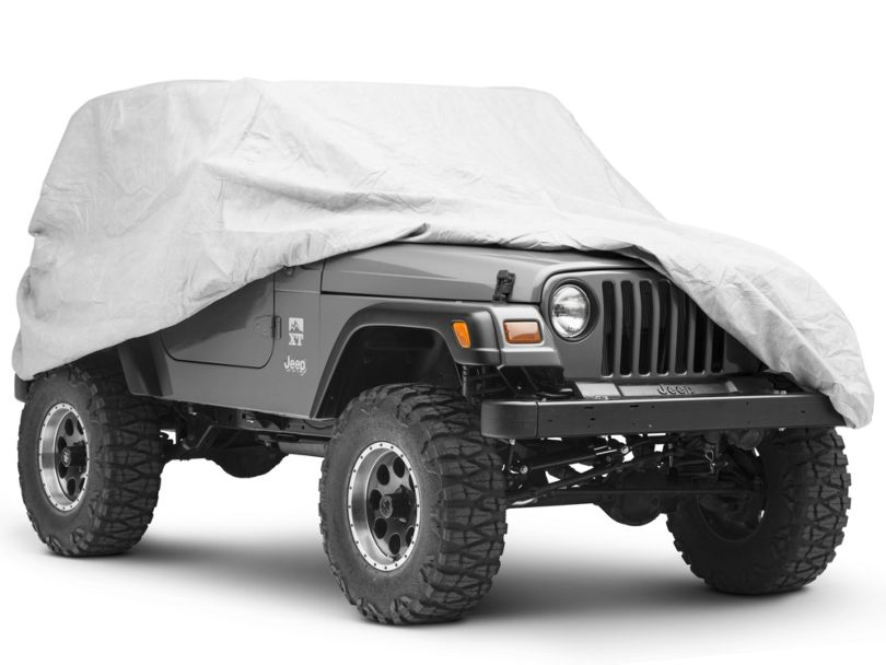 Rugged Ridge Full Car Cover (87-06 Jeep Wrangler YJ & TJ)