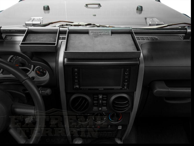 Rugged Ridge Dash Organizer (07-10 Jeep Wrangler JK)