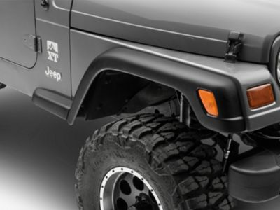 Add Omix-ADA Front OE Flare Extension, Passenger Side (97-06 Wrangler TJ)