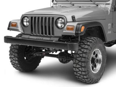 Rugged Ridge Headlight Euro Guards - Black (97-06 Jeep Wrangler TJ)