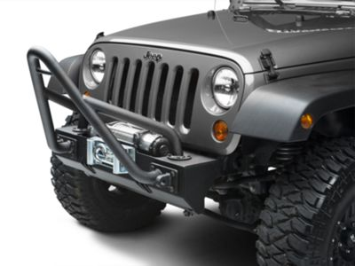 Rugged Ridge Stinger for XHD Bumpers - Textured Black (87-18 Jeep Wrangler YJ