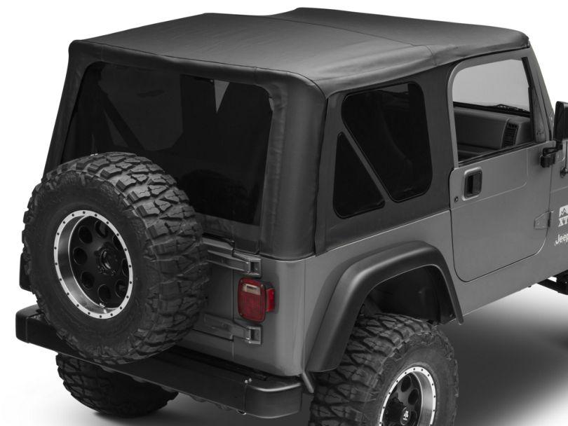 Bestop Sailcloth Replace-A-Top w/ Tinted Windows - Black Vinyl (97-02 Jeep Wrangler TJ w/ Full Steel Doors)