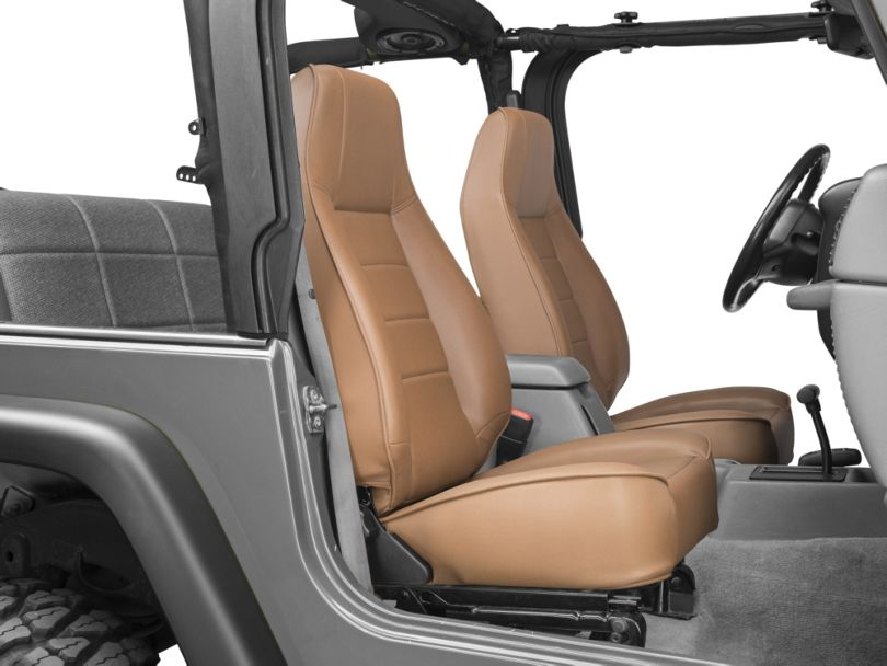 Smittybilt Factory Style Recliner - Spice Denim (87-02 Jeep Wrangler YJ & TJ)