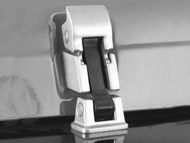 Smittybilt Stainless Steel Hood Catch Kit (97-06 Jeep Wrangler TJ)