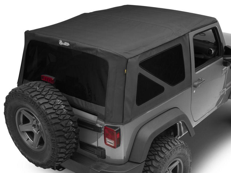 Bestop Supertop NX Soft Top - Black Diamond (07-18 Jeep Wrangler JK 2 Door)