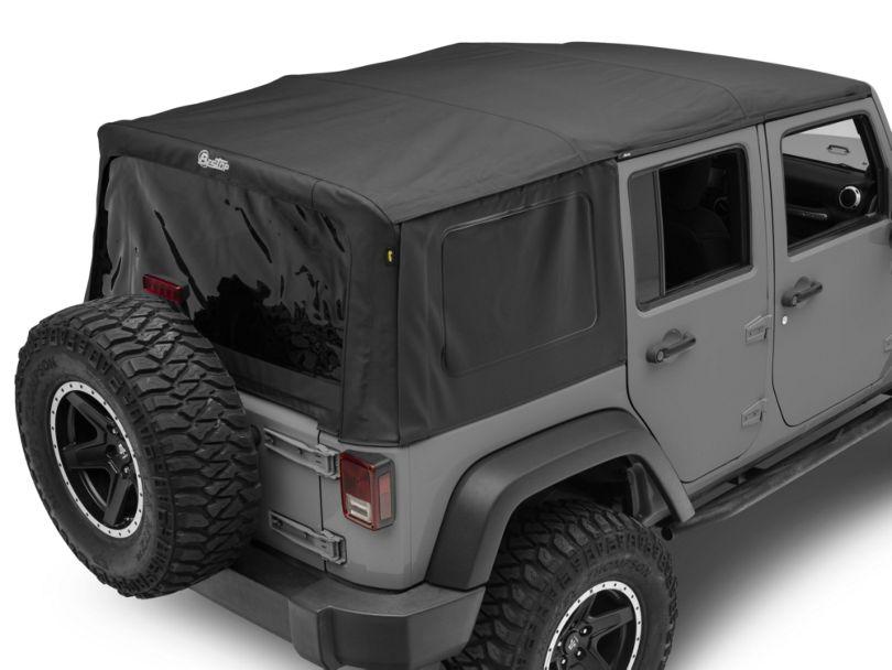 Bestop Supertop NX Soft Top - Black Diamond (07-18 Jeep Wrangler JK 4 Door)