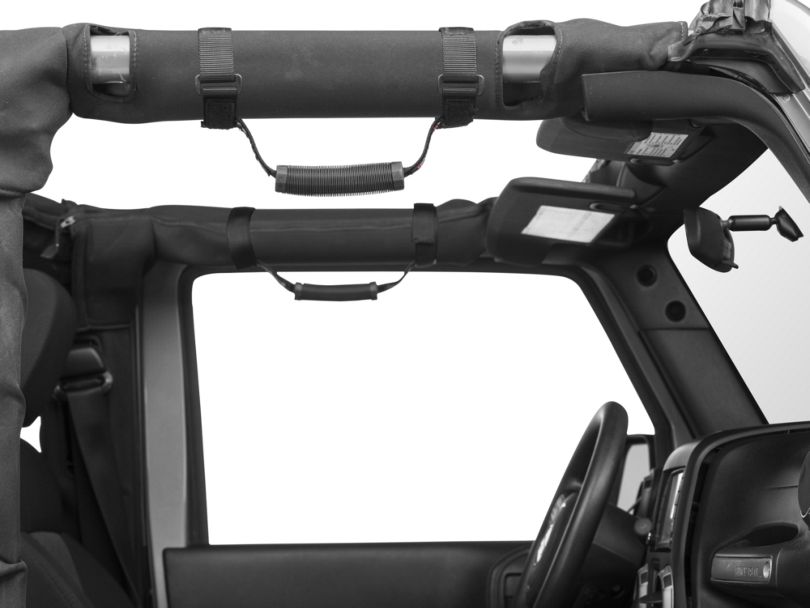 Teraflex 3 in. Roll Bar Grab Handles (87-20 Jeep Wrangler YJ, TJ, JK & JL)