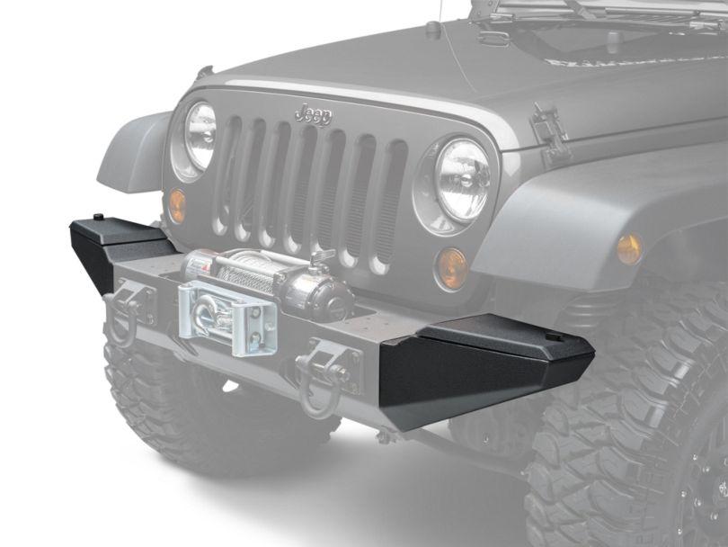 Rugged Ridge XHD Front Bumper Storage Ends (07-18 Jeep Wrangler JK)