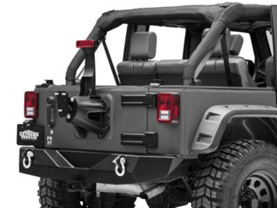 Teraflex Spare Tire Extension Bracket (97-18 Jeep Wrangler TJ & JK)