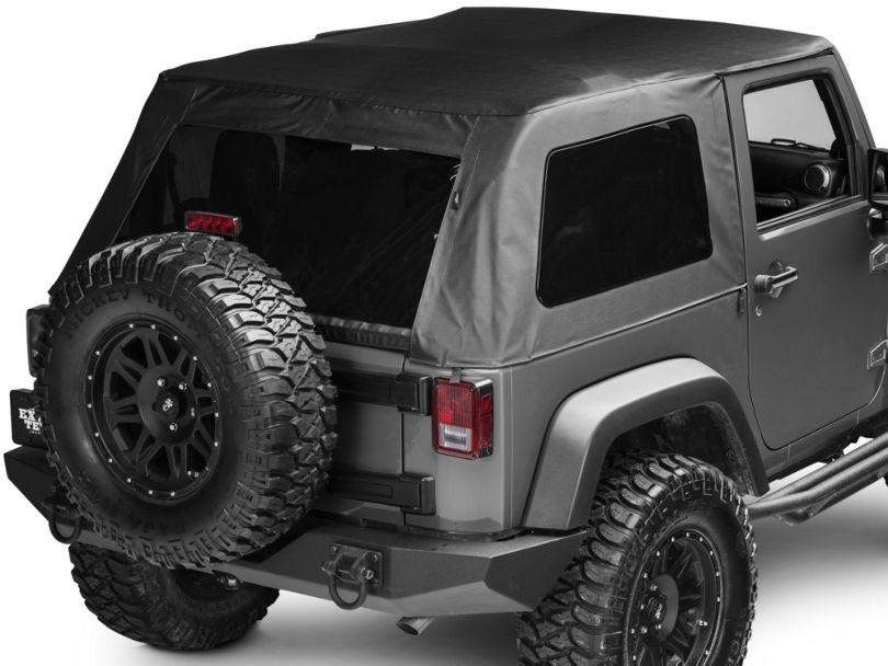 Bestop Trektop Classic Complete Replacement Soft Top (07-18 Jeep Wrangler JK 2 Door)