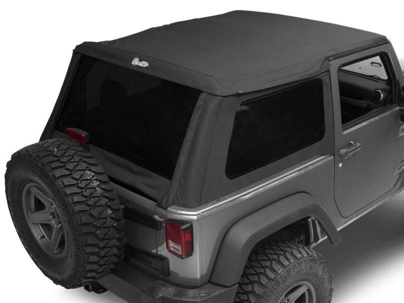 Bestop Trektop NX Soft Top (07-18 Jeep Wrangler JK 2 Door)