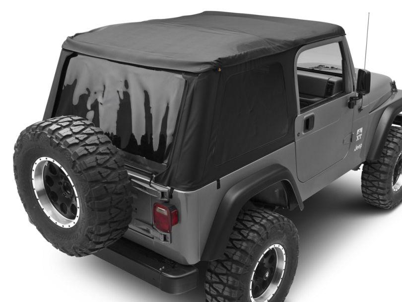 Bestop Trektop NX Soft Top - Black Denim (97-06 Jeep Wrangler TJ, Excluding Unlimited)