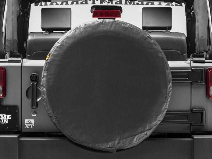 Smittybilt 30-32 in. Spare Tire Cover (87-20 Jeep Wrangler YJ, TJ, JK & JL)