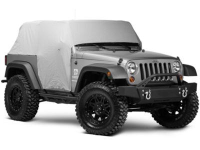 Smittybilt Water Resistant Cab Cover w/ Door Flaps (07-18 Jeep Wrangler JK 2 Door)