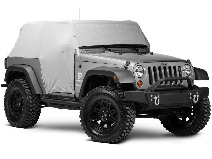 Rugged Ridge Weather-Lite Cab Cover (07-18 Jeep Wrangler JK 2 Door; 18-20 Jeep Wrangler JL 2 Door)