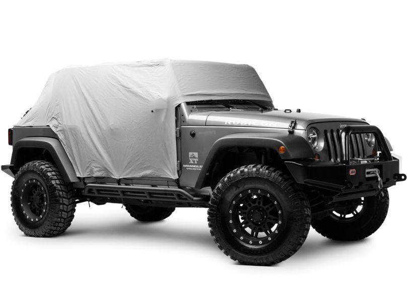 Rugged Ridge Weather Lite Cab Cover (07-18 Jeep Wrangler JK 4 Door)