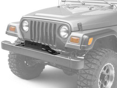 Smittybilt Winch Plate (97-06 Jeep Wrangler TJ)