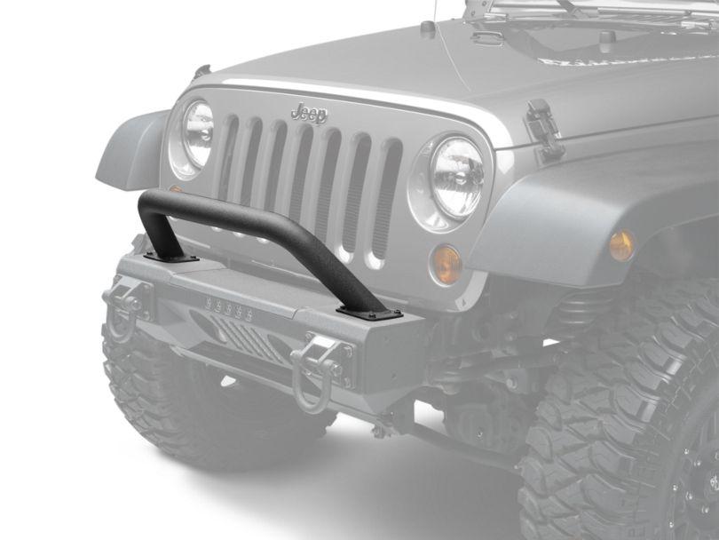Rugged Ridge XHD Aluminum Front Bumper Over-Rider Hoop (07-18 Jeep Wrangler JK)