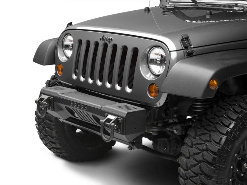 Rugged Ridge XHD Non-Winch Front Bumper (07-18 Jeep Wrangler JK)