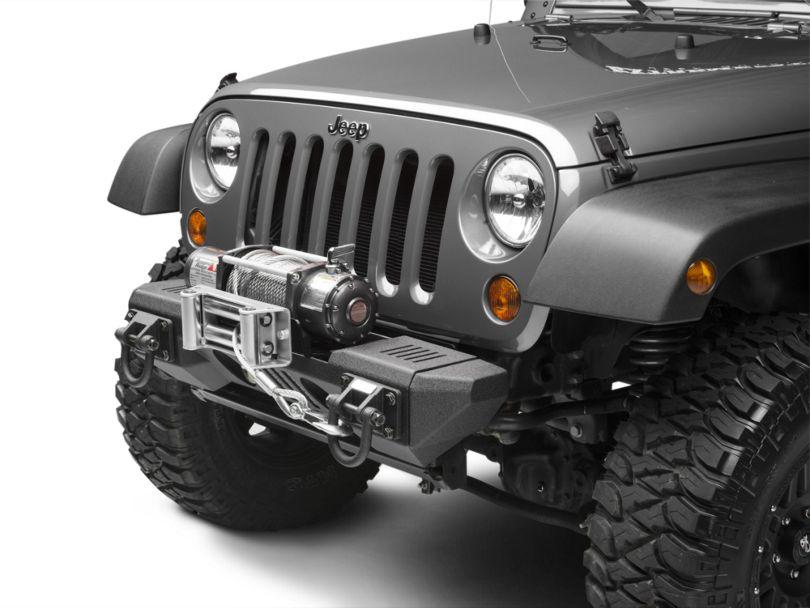 Rugged Ridge XHD Aluminum Front Winch Bumper (07-18 Jeep Wrangler JK)