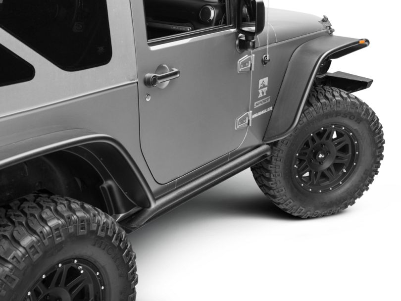 Smittybilt XRC Rock Sliders (07-18 Jeep Wrangler JK 2 Door)