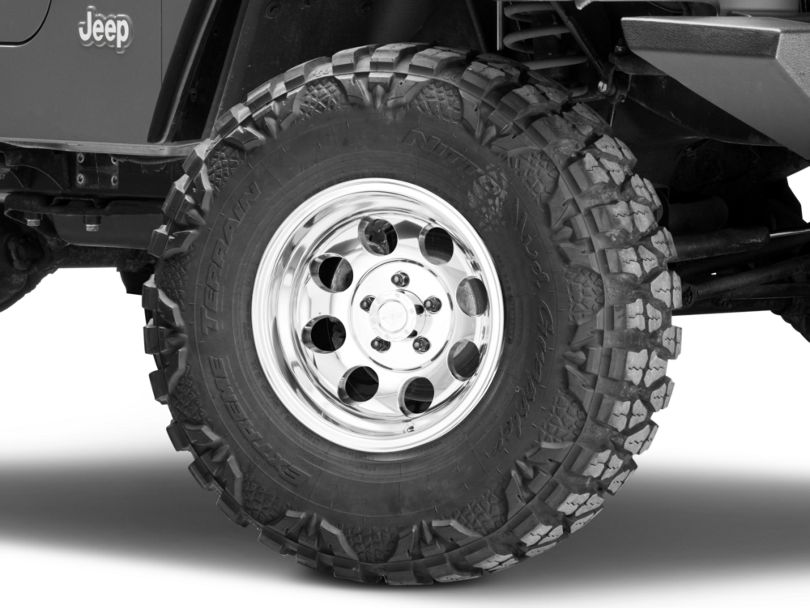 Pro Comp Wheels Series 1069 Polished Wheel - 15x8 (97-06 Jeep Wrangler TJ)