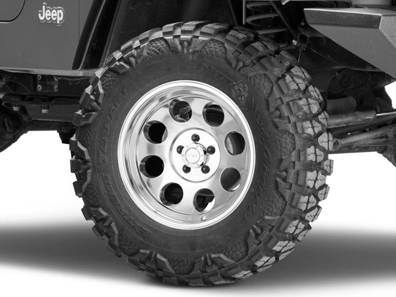 Pro Comp Wheels Series 1069 Polished Wheel - 17x9 (97-06 Jeep Wrangler TJ)