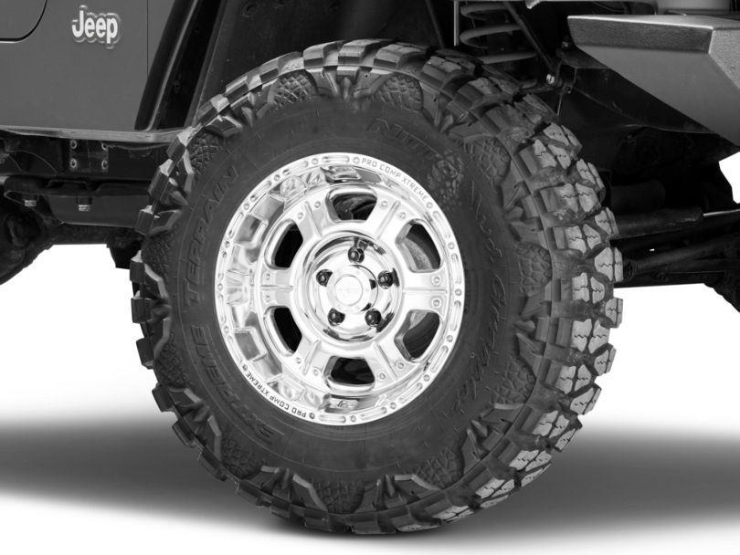 Pro Comp Wheels Series 1089 Polished Wheel - 16x8 (97-06 Jeep Wrangler TJ)