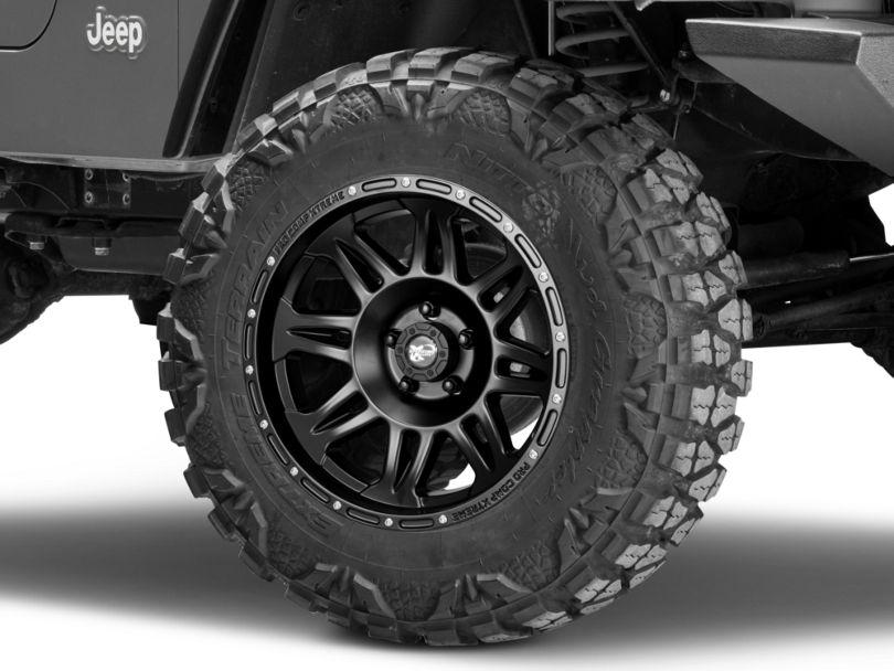 Pro Comp Wheels Series 7005 Black Wheel - 17x9 (97-06 Jeep Wrangler TJ)