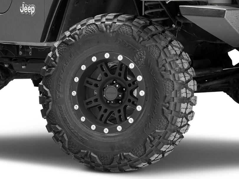 Pro Comp Wheels Series 7031 Black Wheel - 15x8 (97-06 Jeep Wrangler TJ)