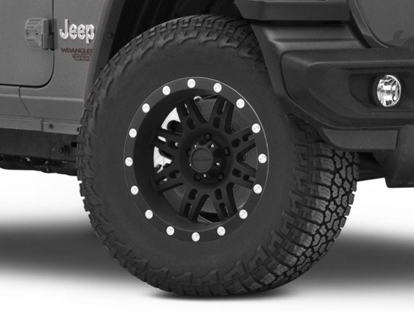 Pro Comp Wheels Series 7031 Flat Black Wheel; 17x9 (18-20 Jeep Wrangler JL)
