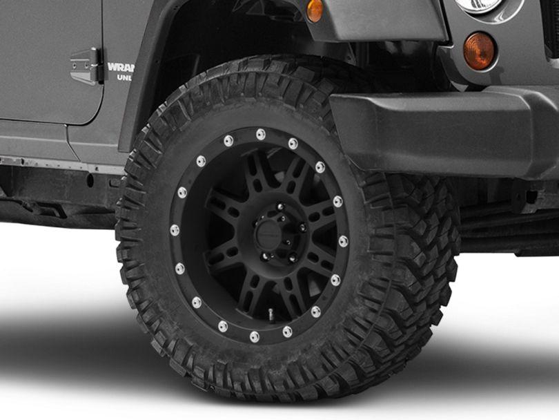 Pro Comp Wheels Series 7031 Flat Black Wheel; 18x9 (07-18 Jeep Wrangler JK)